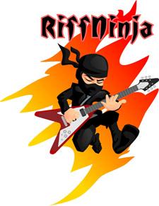 Riff Ninja Guitar