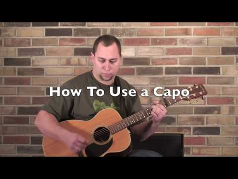 how to use a guitar capo play guitar. Black Bedroom Furniture Sets. Home Design Ideas
