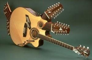 Giraffe guitar