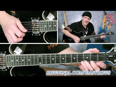 string stretching riff for beginners play guitar. Black Bedroom Furniture Sets. Home Design Ideas