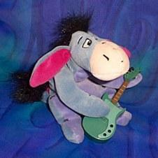 Eeyore With Guitar
