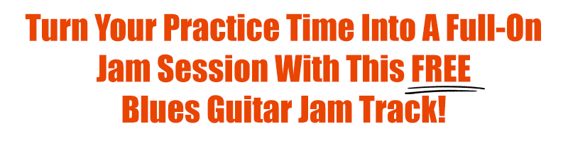 Turn your practice time into a full-on jam session with this free blues guitar jam track