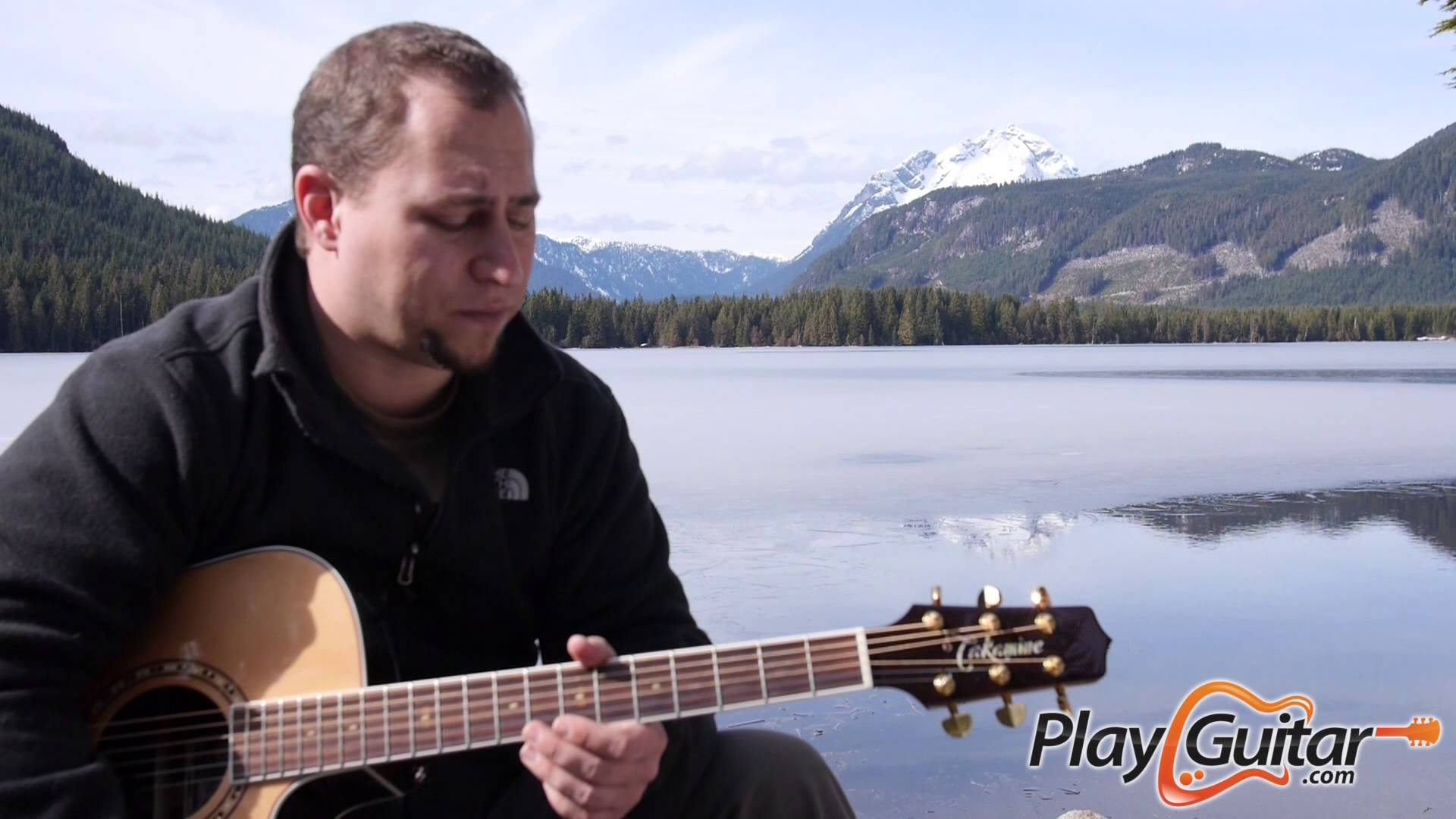 Cool Chord Progression With Drone Notes Play Guitar